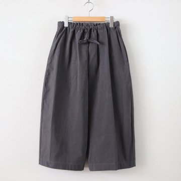 GREIF COTTON PANTS #D.GRAY [A232171PP302] _ Atelier d'antan | アトリエダンタン