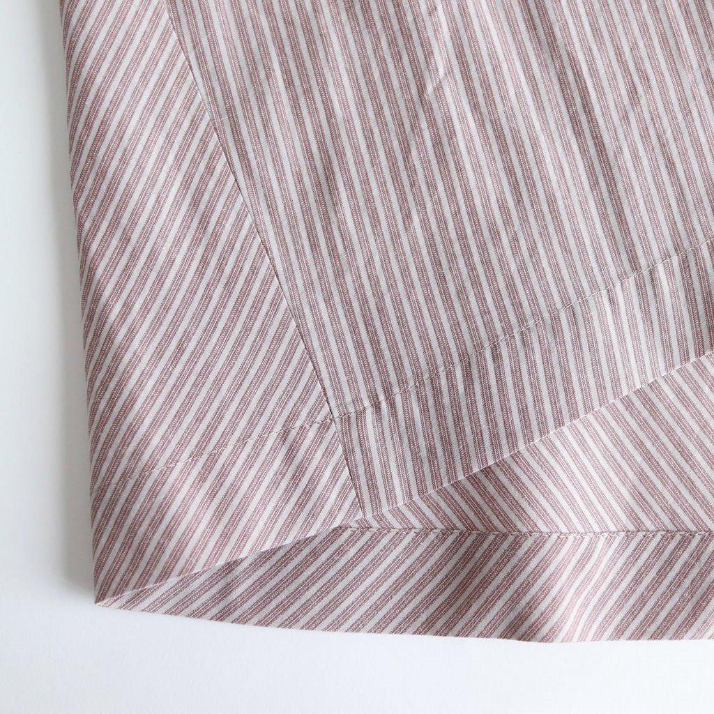 トラピーズスカート #SMOKY PINK [19-602]