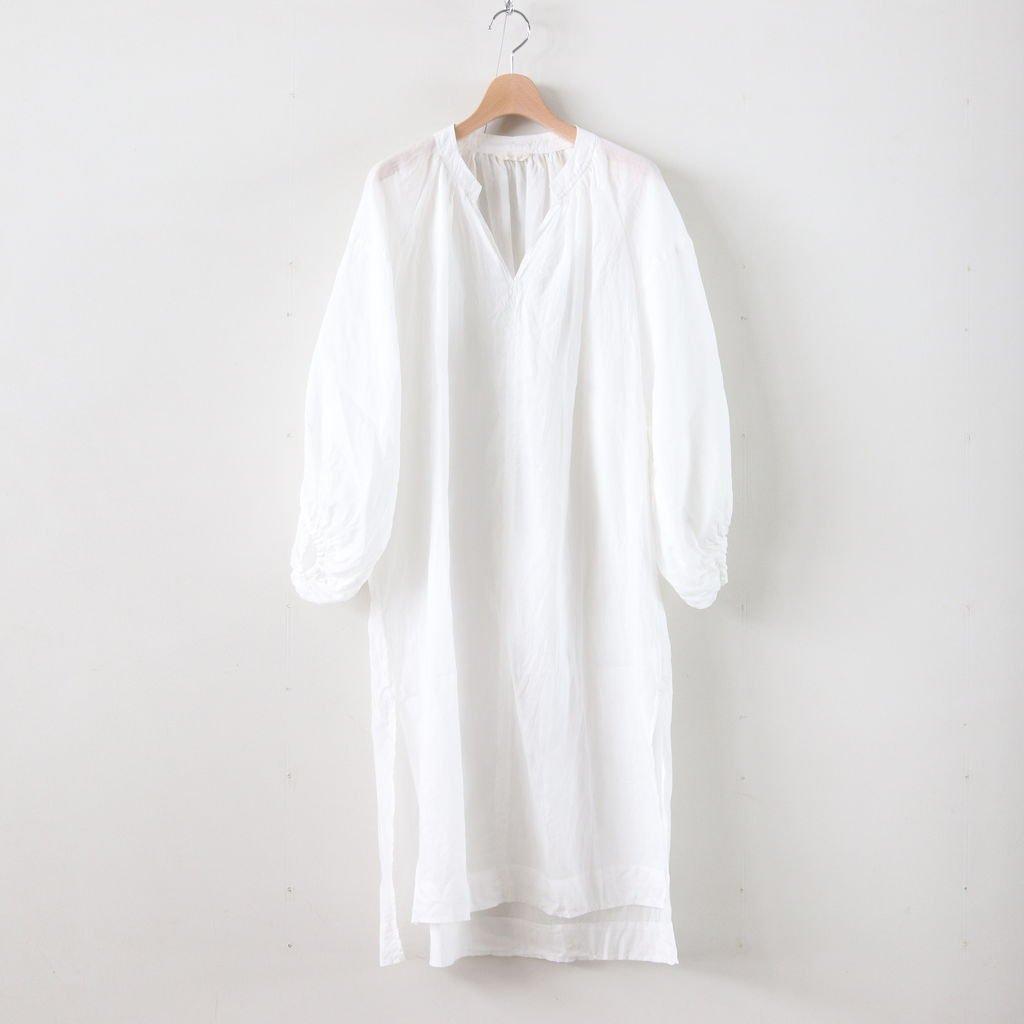 ラミーロングチュニック #WHITE [191-556]