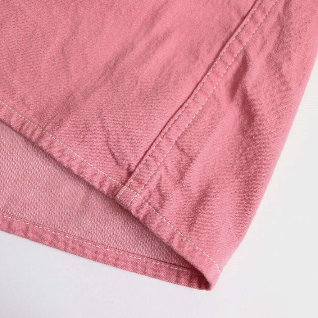 DENIM S/S SHIRTS #PINK [19SWSH01]