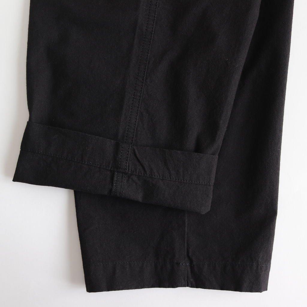 パラシュートクロストラウザーズ #BLACK [191-552]