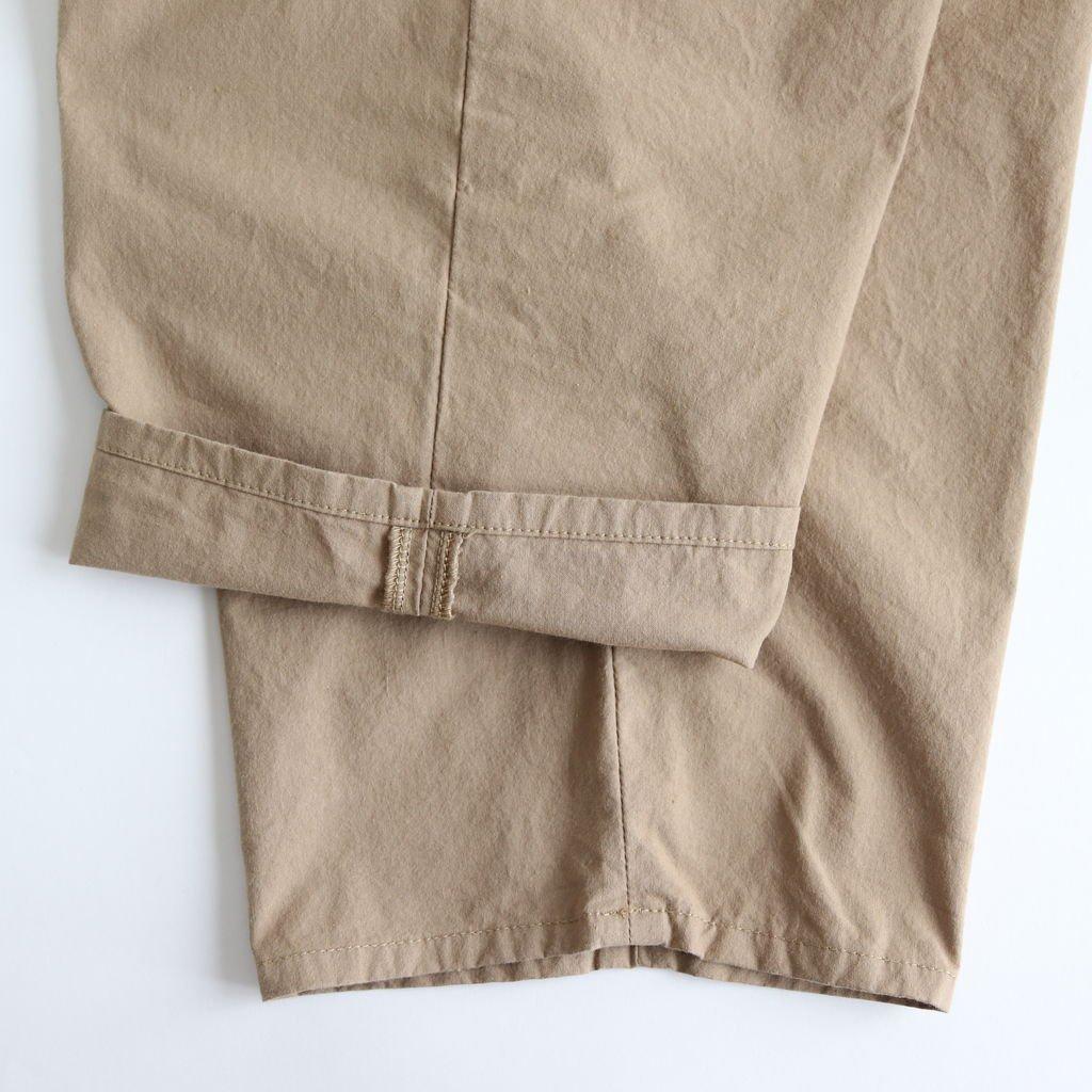 パラシュートクロスタックパンツ #SAND BEIGE [191-554]