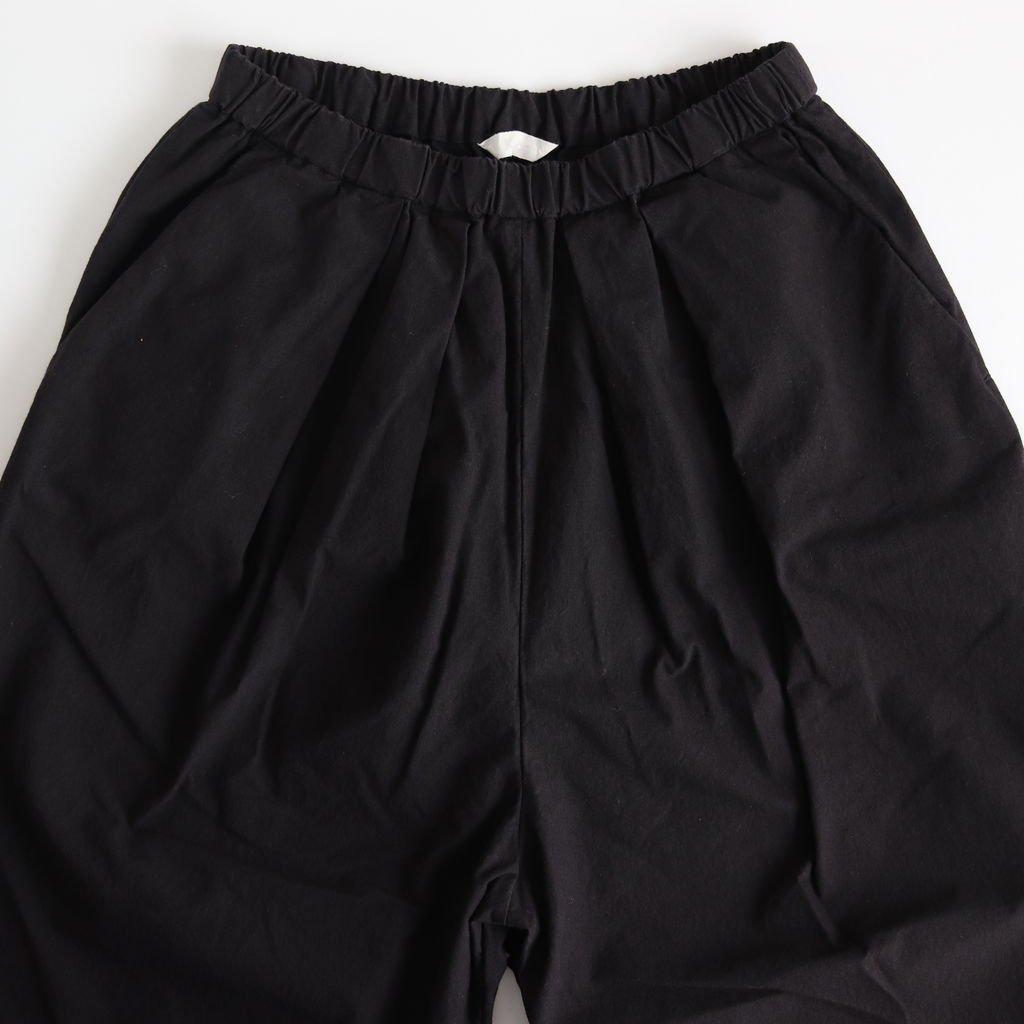 パラシュートクロスタックパンツ #BLACK [191-554]