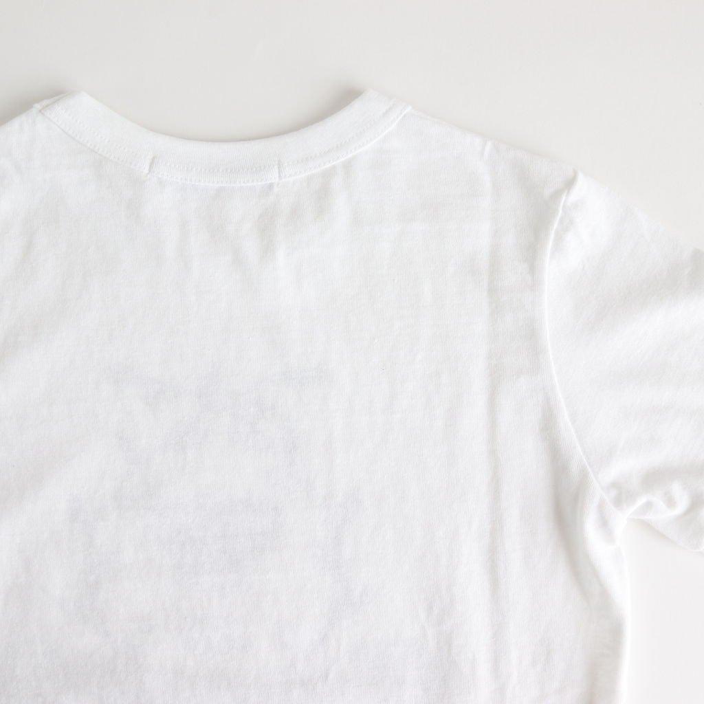 EMBLEM T-SH #WHITE×NAVY [no.3630]