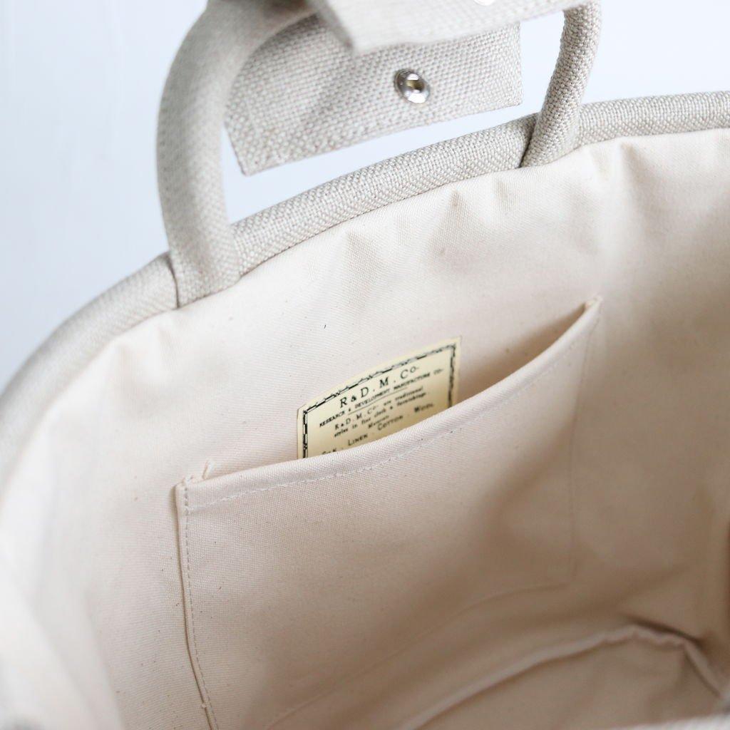 MARCHE BAG SMALL #FLAX [no.810]