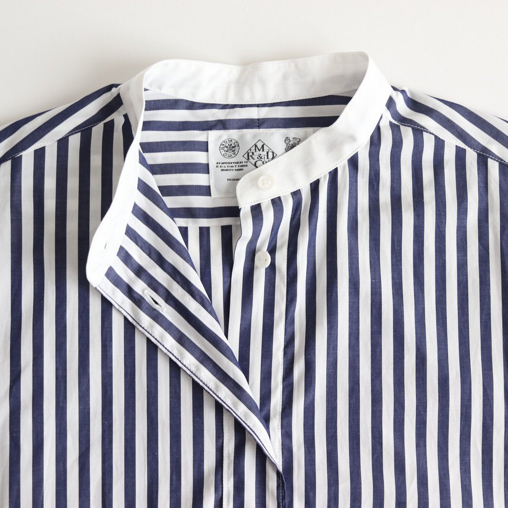 H/T CLERIC ROOMY SHIRT #LONDON STRIPE [no.3615]