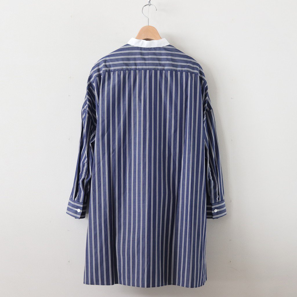 H/T CLERIC ROOMY SHIRT #STRIPE [no.3615]