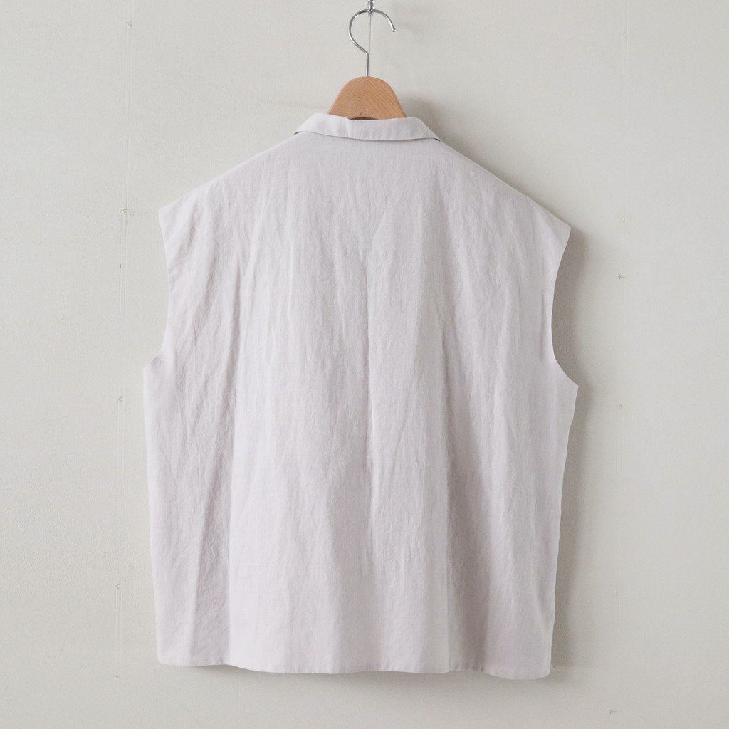 STUCK COTTON SHIRTS #L.GRAY [A232191TS351]
