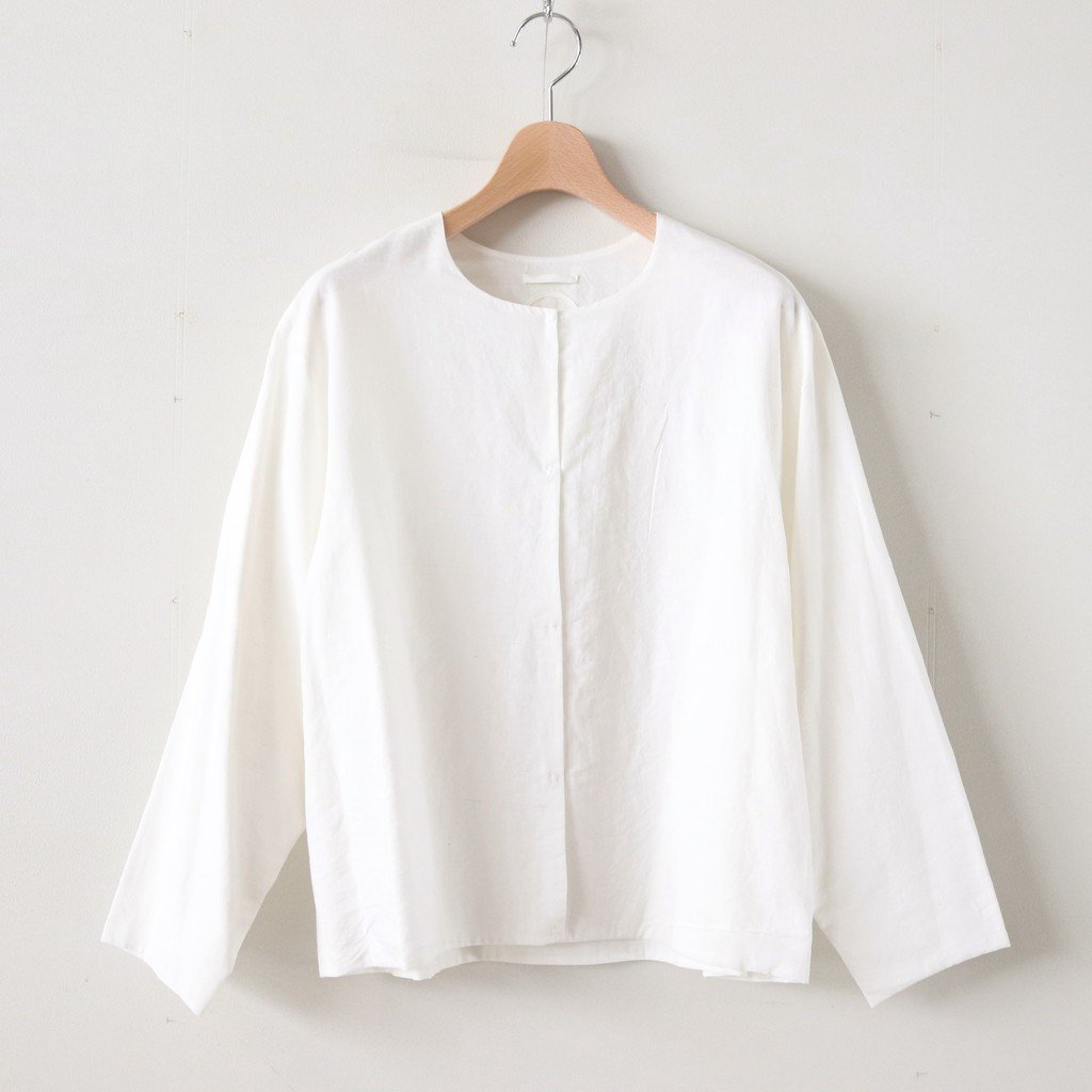 QUELLIER COTTON SHIRTS #WHITE [A232181TS310]
