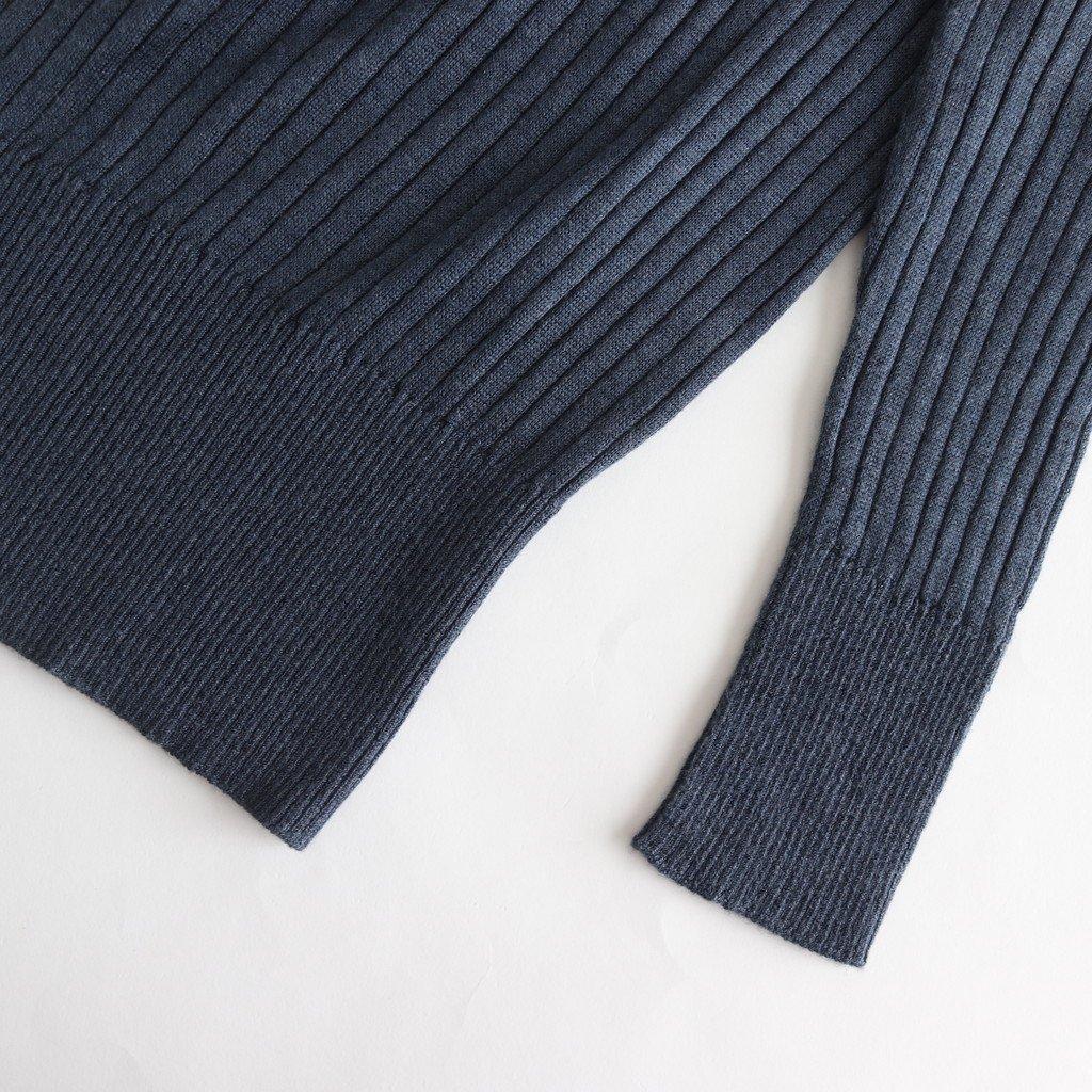 ポエータハイネックセーター #MARINE [19-850]