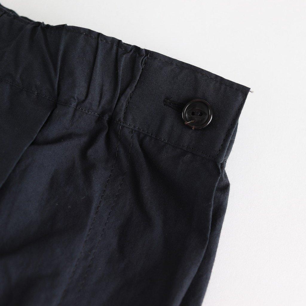 高密度タイプライタープリーツスカート #BLACK [SK19510]