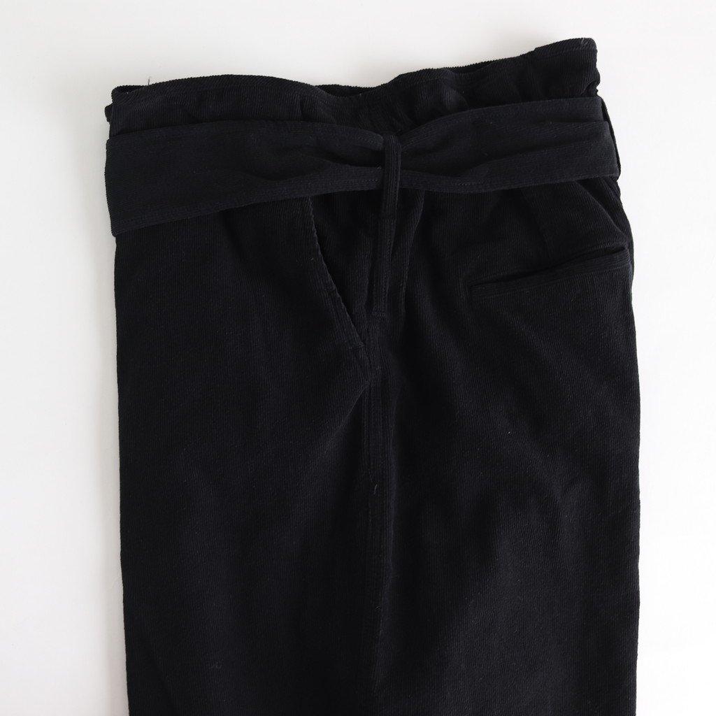 コーデュロイラップパンツ #BLACK [192-568]