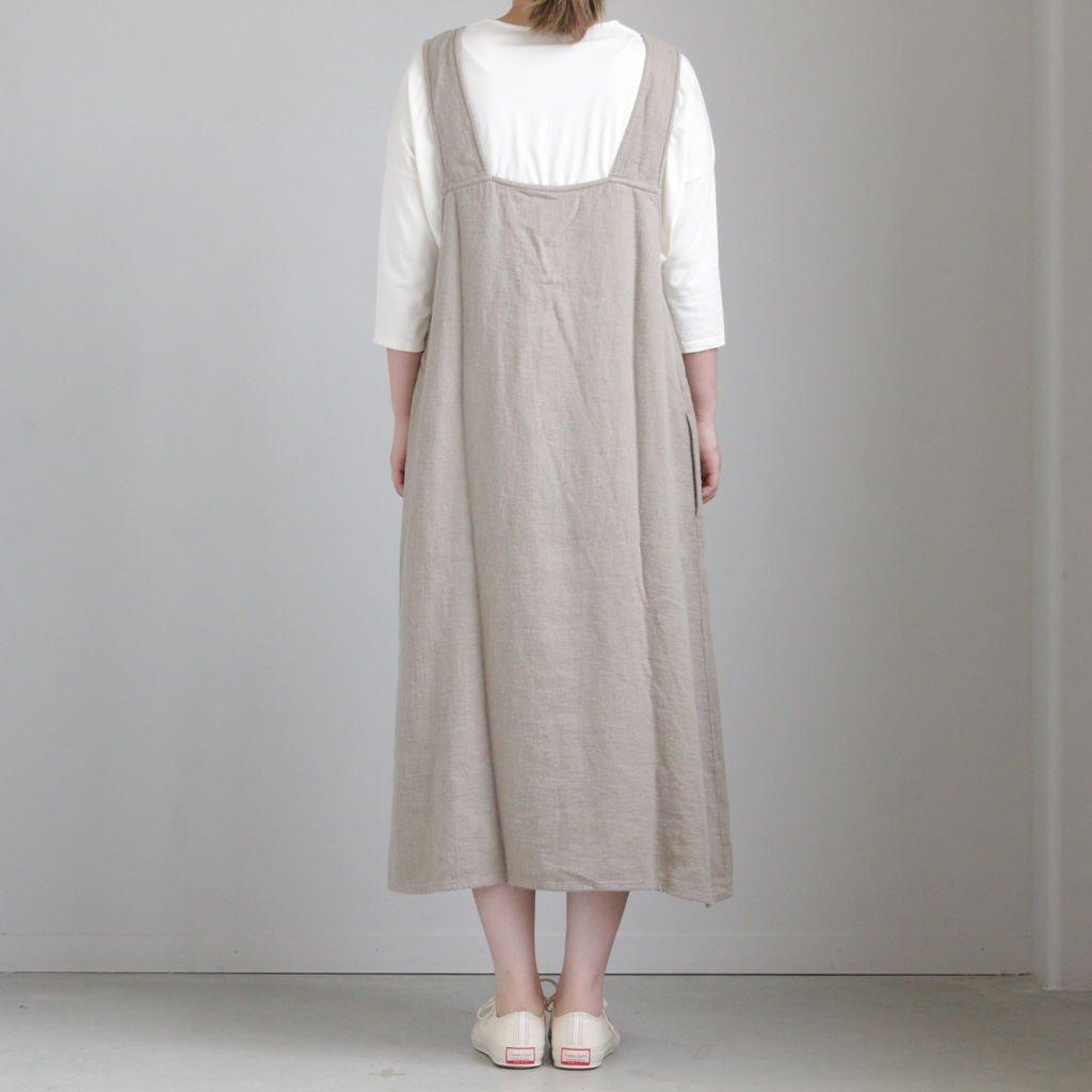 30/-度詰天竺 ドロップショルダーTシャツ #KINARI [162-421]