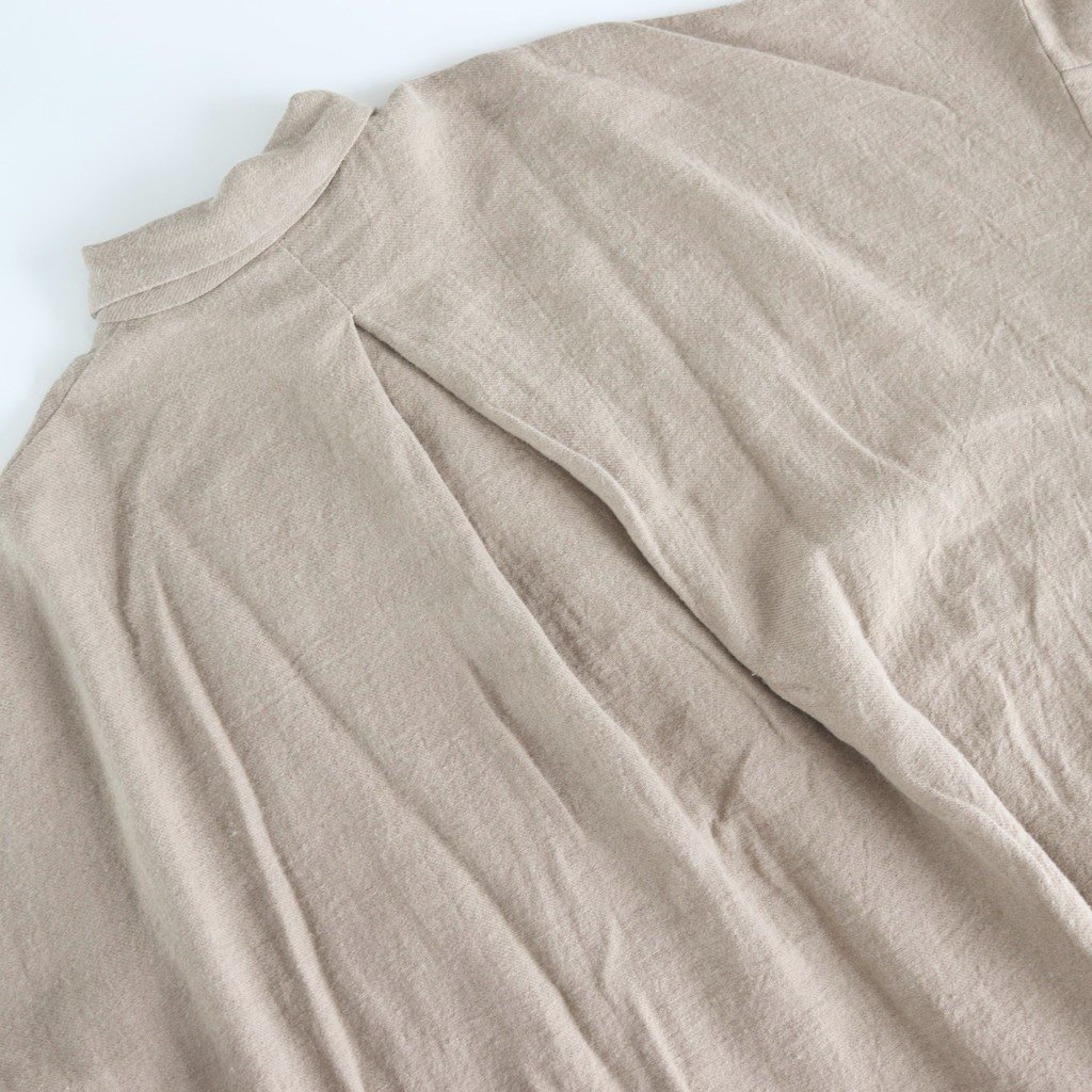 L/Wビエラ ルーズシャツ #MOCA BEIGE [192-582]