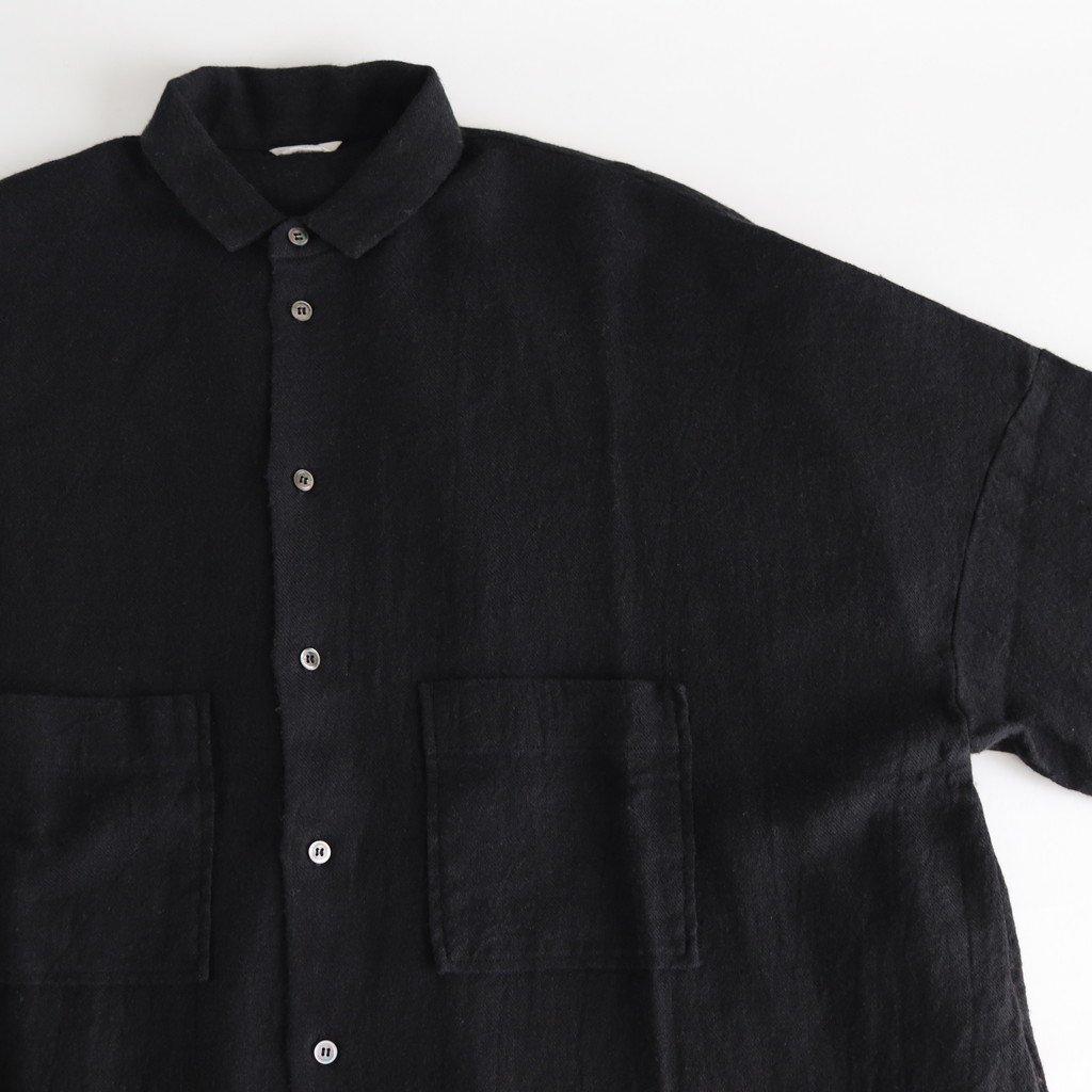 L/Wビエラ ルーズシャツ #BLACK [192-582]
