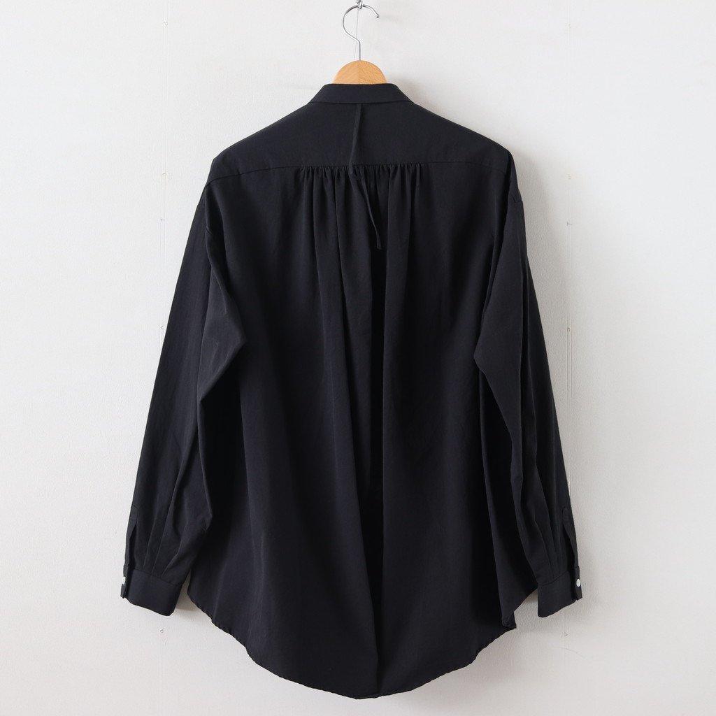 ヘムレンシャツ #GREENISH BLACK [19-356]