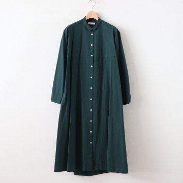 ヘムレンシャツワンピース #BOTTLE GREEN [19-259] - susuri | ススリ