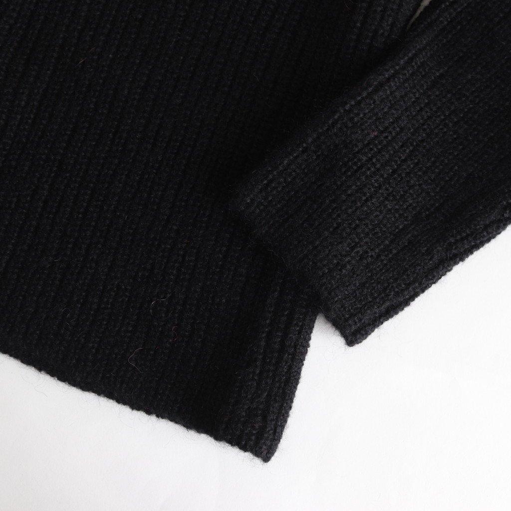 WHOLE GARMENT CARDIGAN #BLACK [sa19135-5]