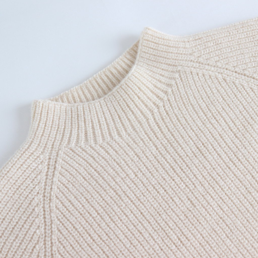 WHOLE GARMENT PULLOVER KNIT #OFF WHITE [sa19136-5]