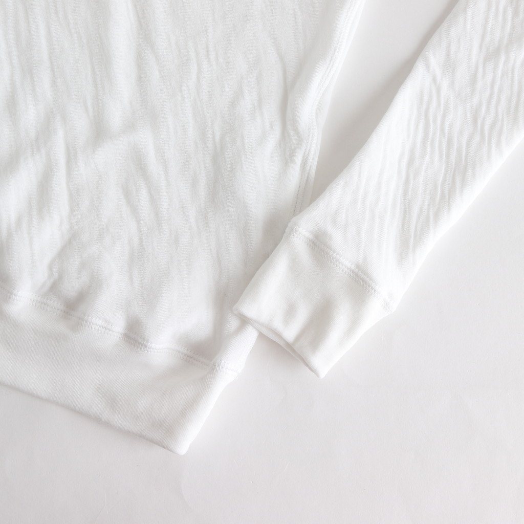 4-GAUZE HIGH NECK SHIRT #WHITE [no.3190]