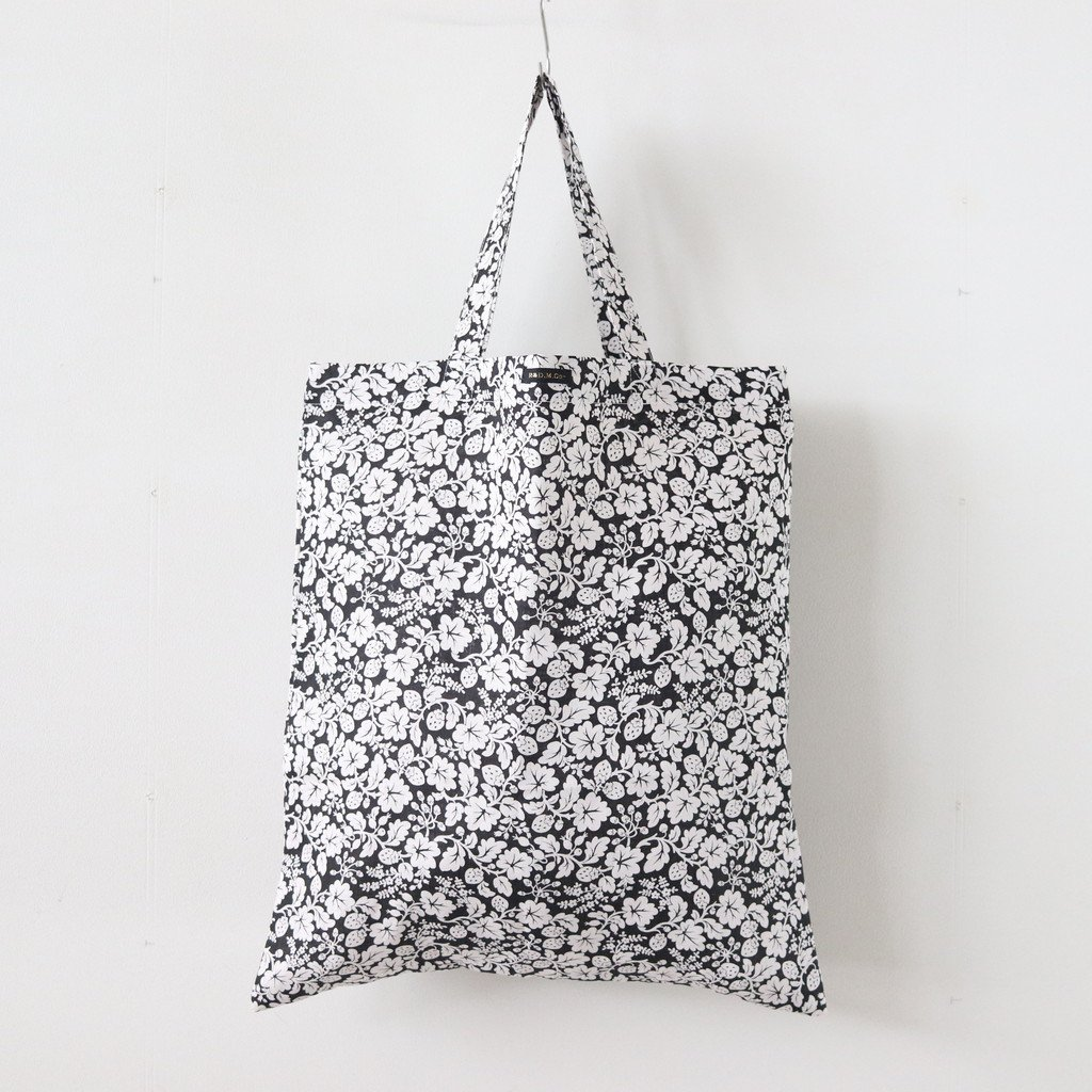 HAND PRINT TOTE BAG #WILD BERRY [no.3759]