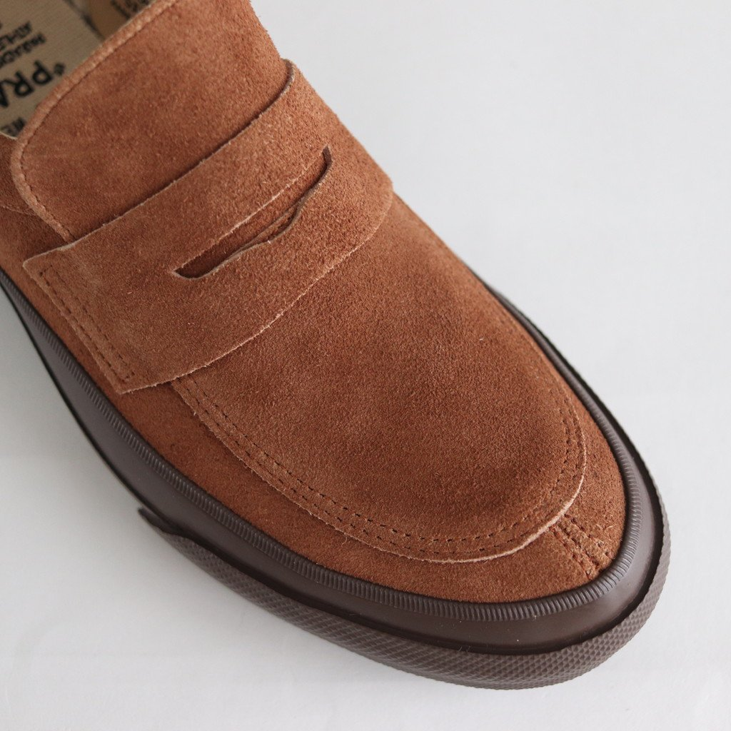 COMFY LOAFERS #BROWN/BROWN [PRAS-CF04-003]