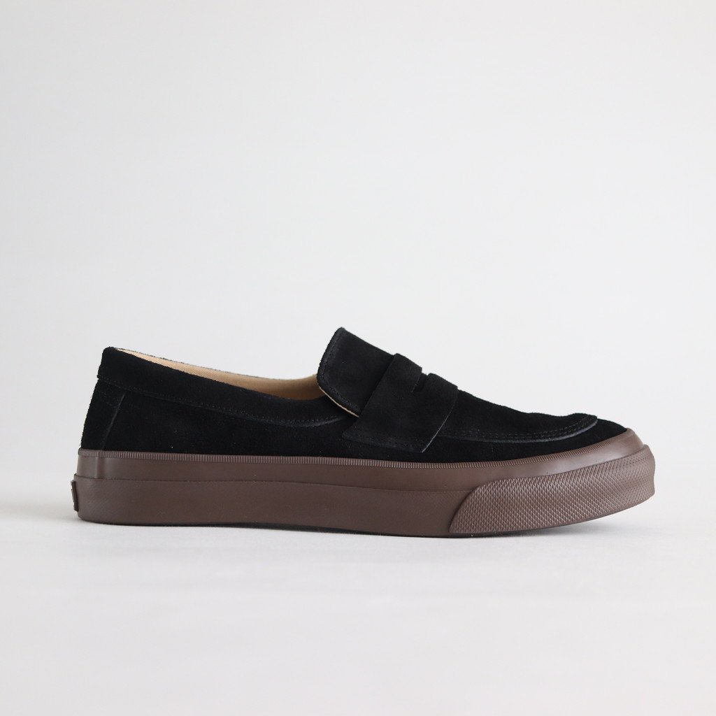 COMFY LOAFERS #BLACK/BROWN [PRAS-CF04-003]