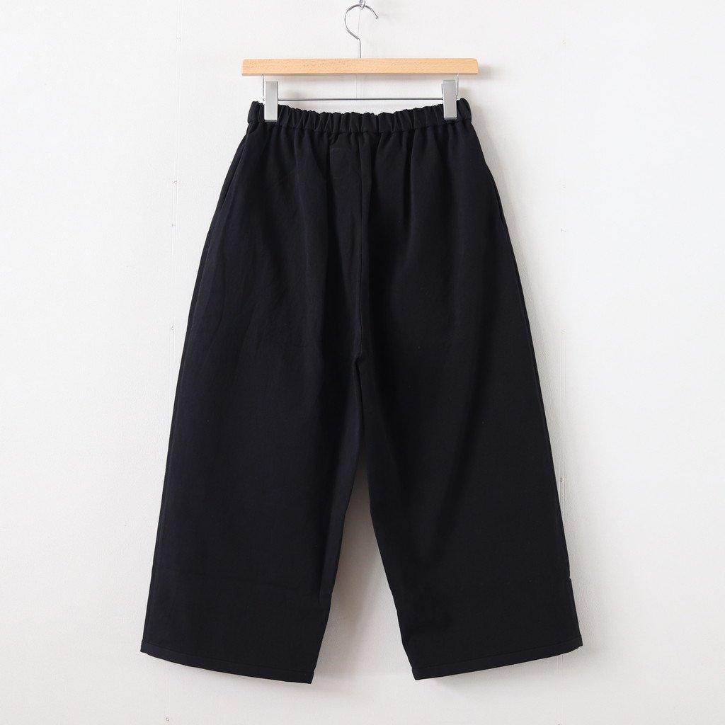 PEYTON COTTON PANTS #BLACK [A232161PP220]
