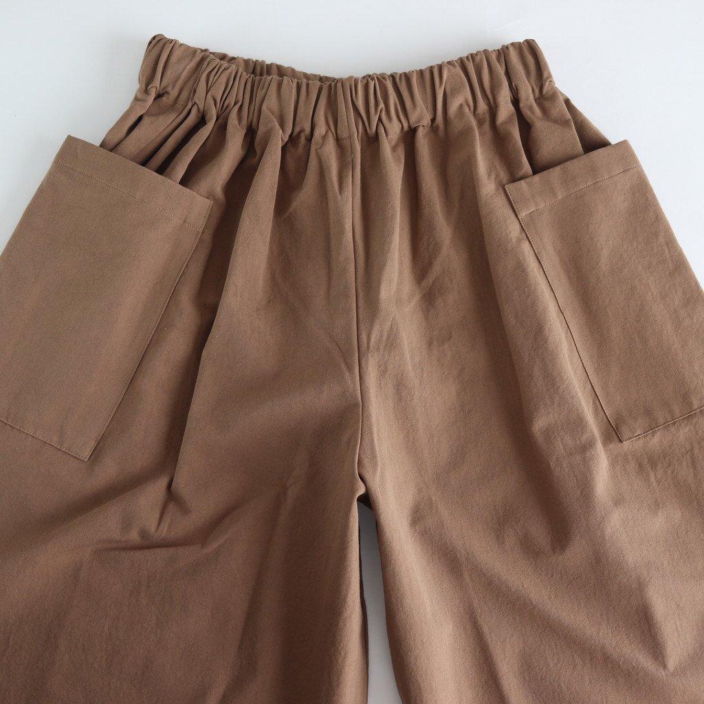 PERRIERE COTTON PANTS #KHAKI [A232192PP392]