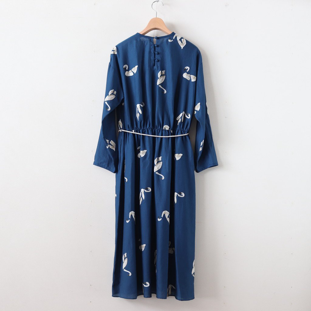 BROKEN SWAN/ONE-PIECE #BLUE [sa19929-2]