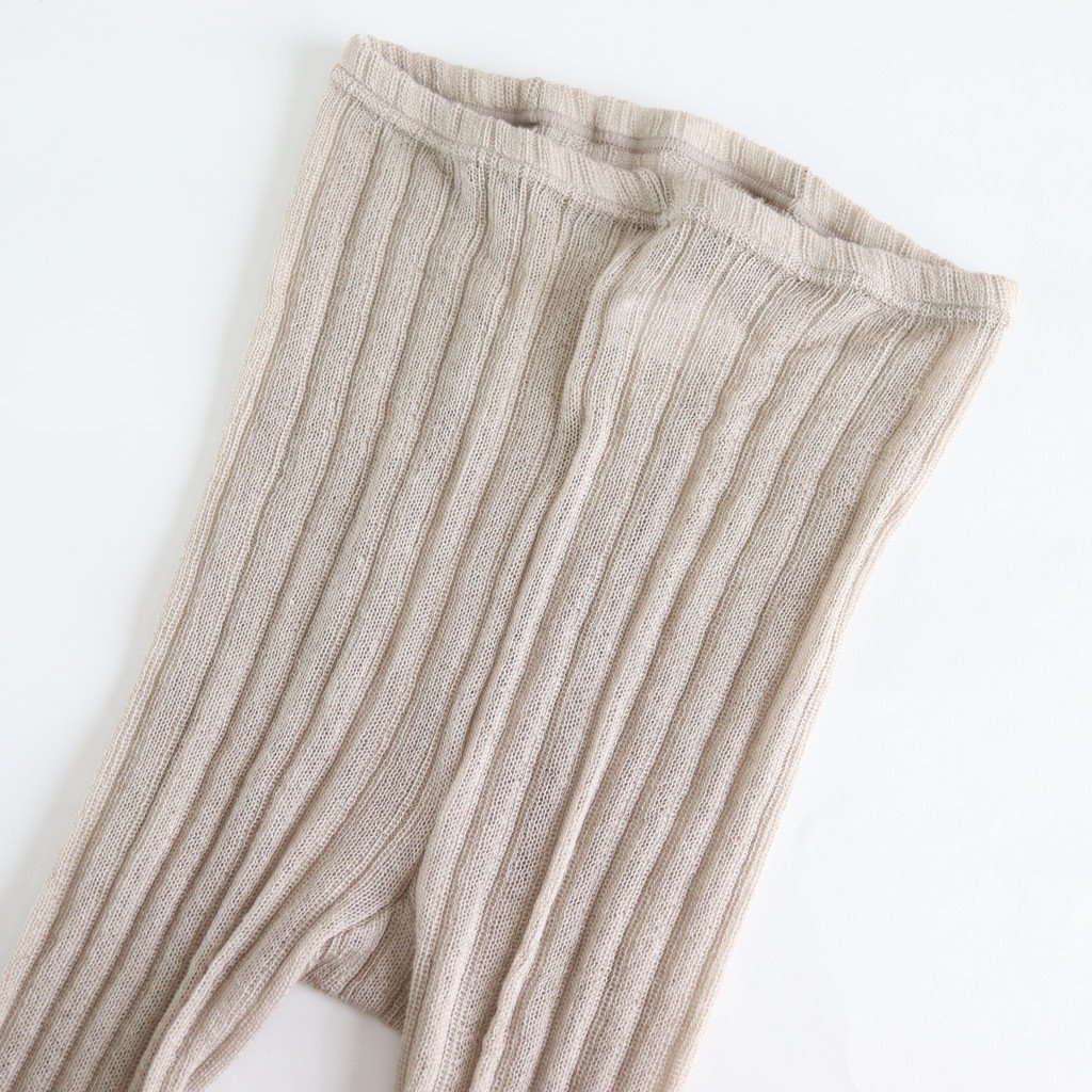 LOOSE FIT TIGHTS #SMOKE BEIGE [no.3817]