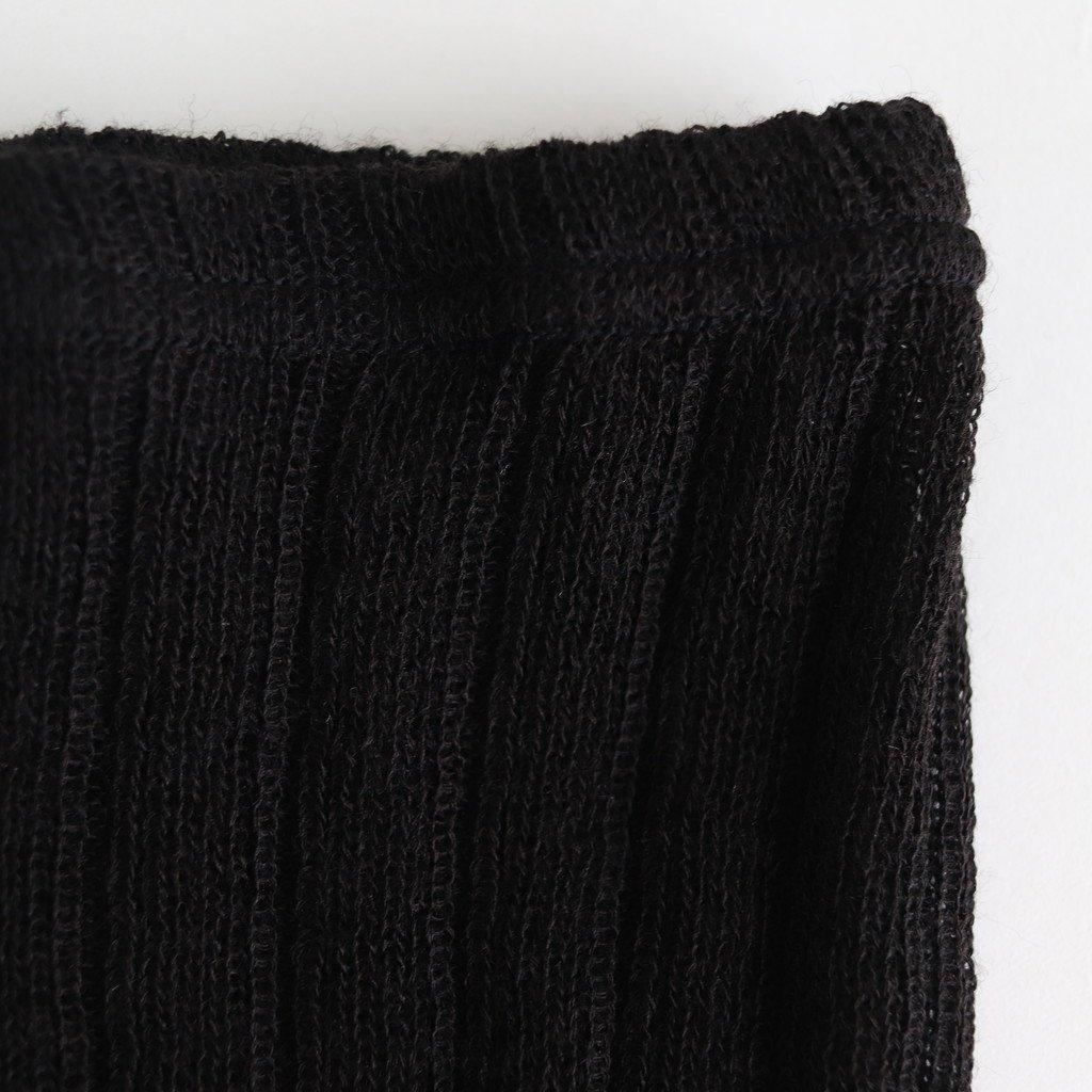 LOOSE FIT TIGHTS #BLACK [no.3817]