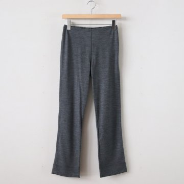 WOOL TIGHT PANTS #CHARCOAL [no.3786] - R&D.M.Co- OLDMAN'S TAILOR | オールドマンズテーラー