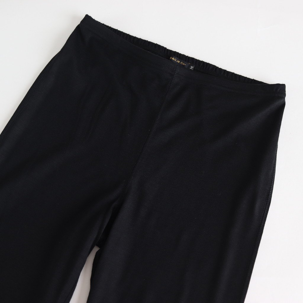 WOOL TIGHT PANTS #BLACK [no.3786]