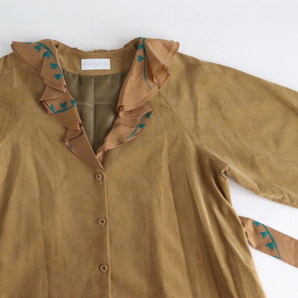 BLOW MIX/COAT #CAMEL [sa191020-1]