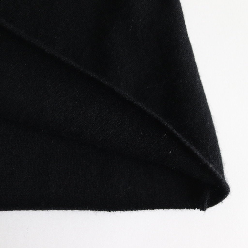 WOOL CASHMERE CACHE COEUR CARDIGAN #BLACK [no.3887]