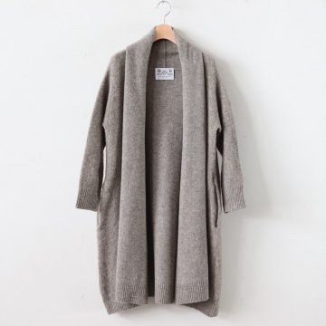 SHAGGY LONG CARDIGAN #GREIGE [no.3901] - R&D.M.Co- OLDMAN'S TAILOR | オールドマンズテーラー