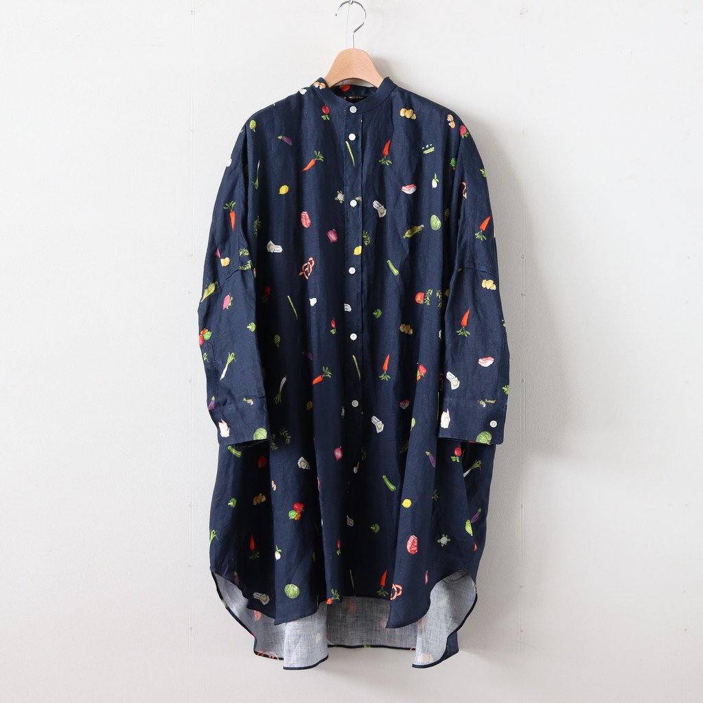 HARVEST FESTIVAL DOLMAN SLEEVE SHIRT #NAVY [no.3975]
