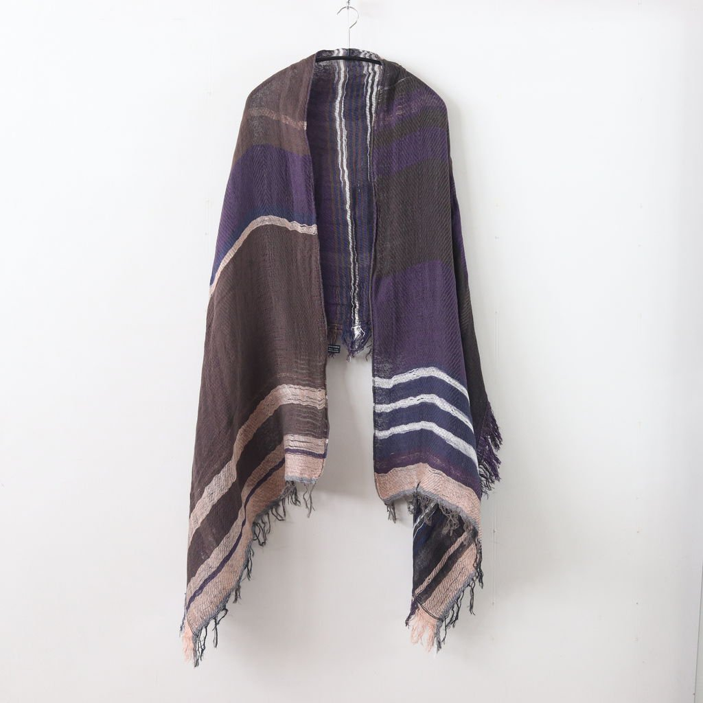 MOCOTTON SHAWL MIDDLE COTTON100% #ONLY ONE [20A031]