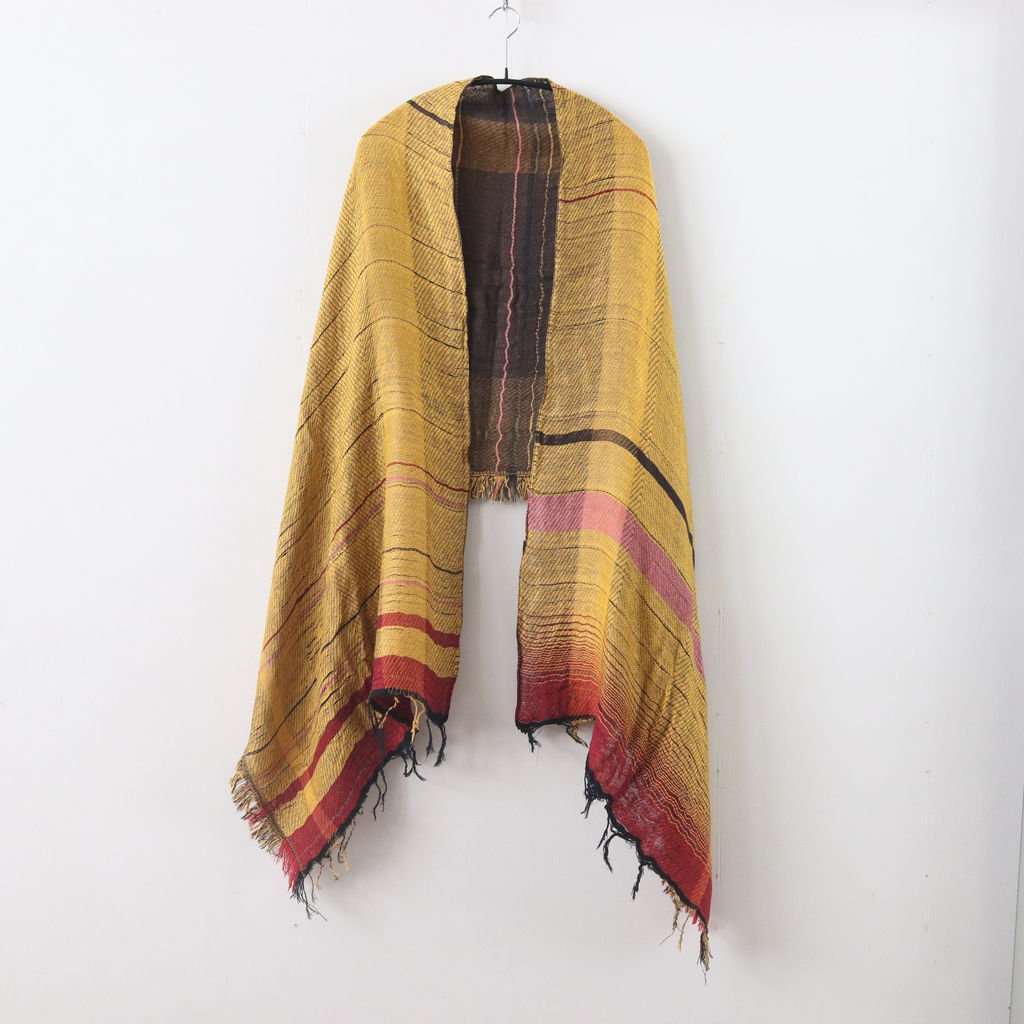 MOCOTTON SHAWL MIDDLE COTTON100% #ONLY ONE [20A035]