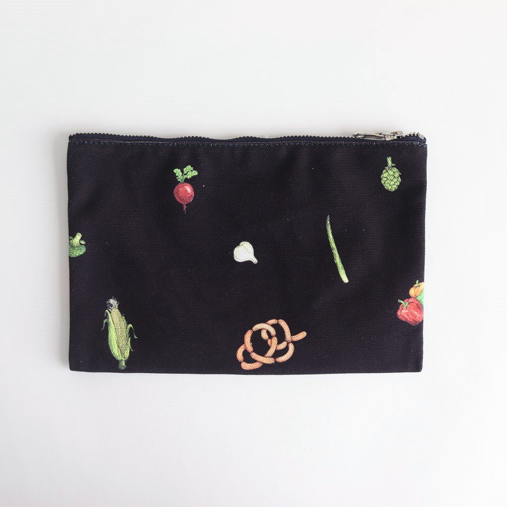 HARVEST FESTIVAL POUCH #NAVY [no.3991]
