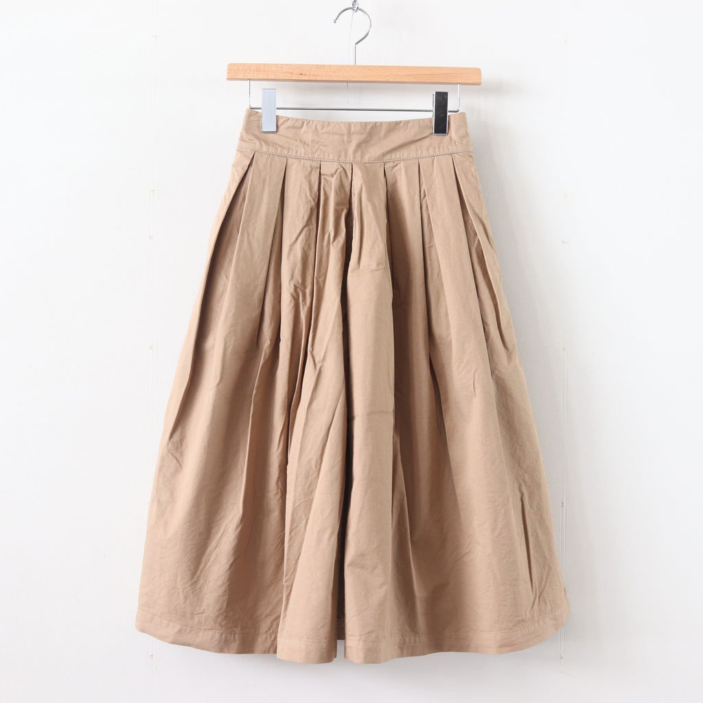 CULOTTES 40 COMBED TWILL #BEIGE [A21501]