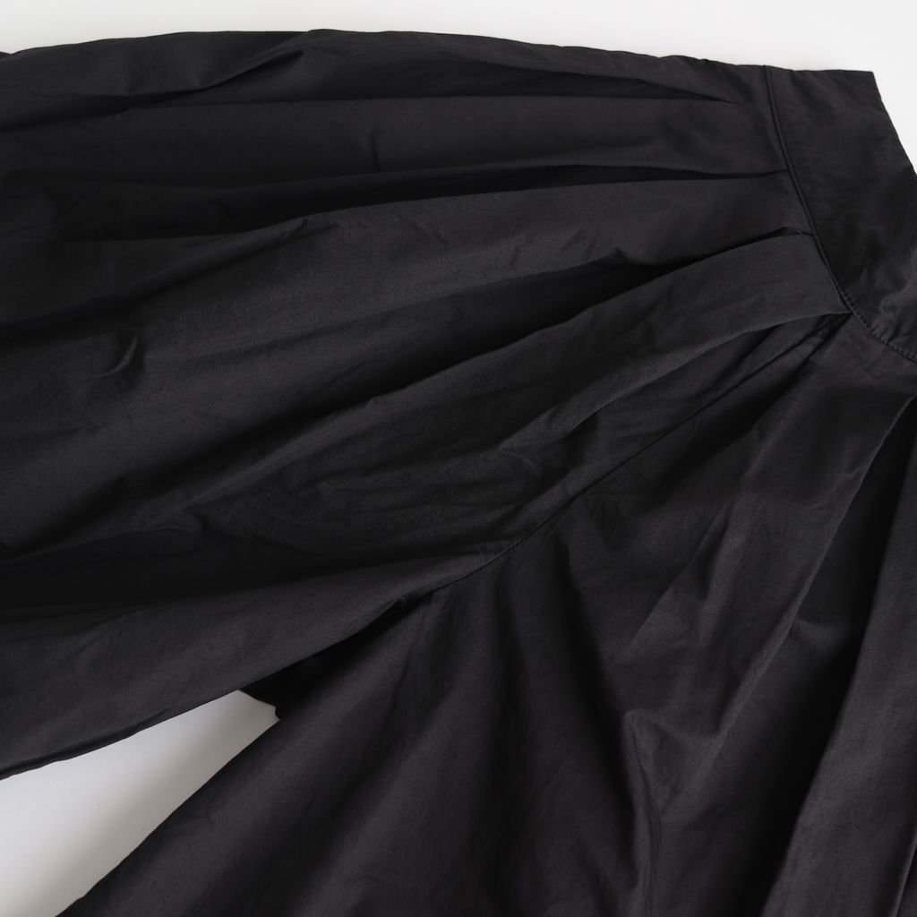 CULOTTES 40 COMBED TWILL #BLACK [A21501]
