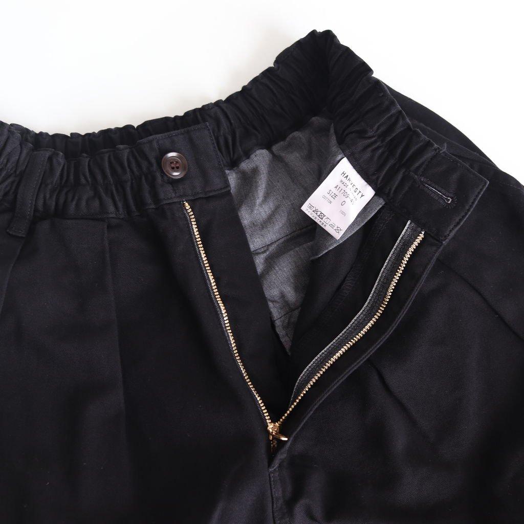 CIRCUS PANTS CHINO CLOTH GARMENT DYED #BLACK [A11709]