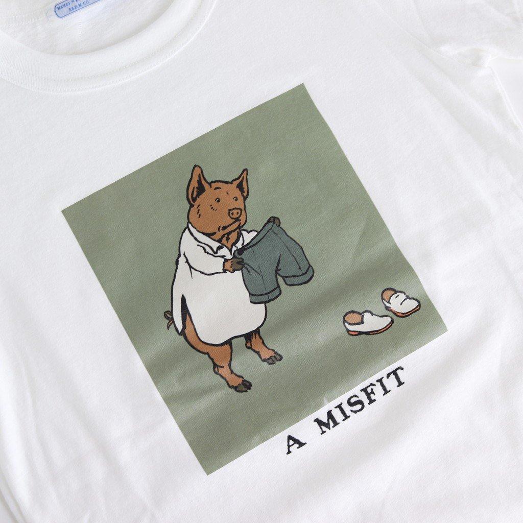 A MISFIT T-SH #WHITE [no.4057]