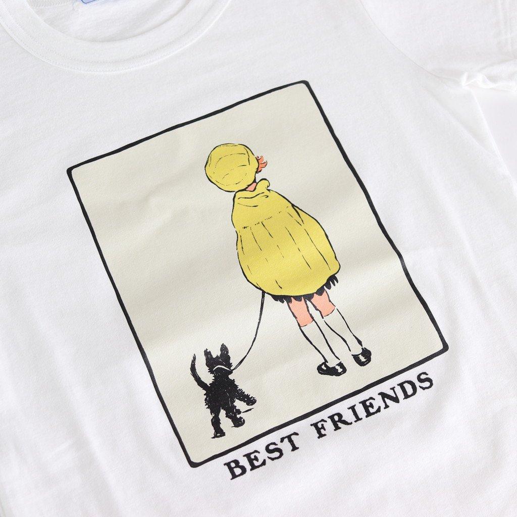 BEST FRIENDS T-SH #WHITE [no.4061]