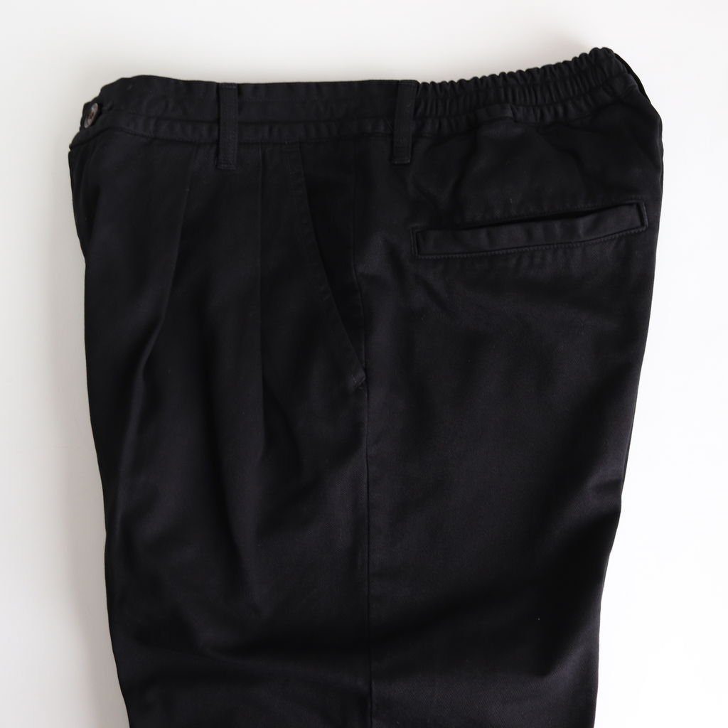 EASY EGG PANTS CHINO CLOTH #BLACK [A11913]