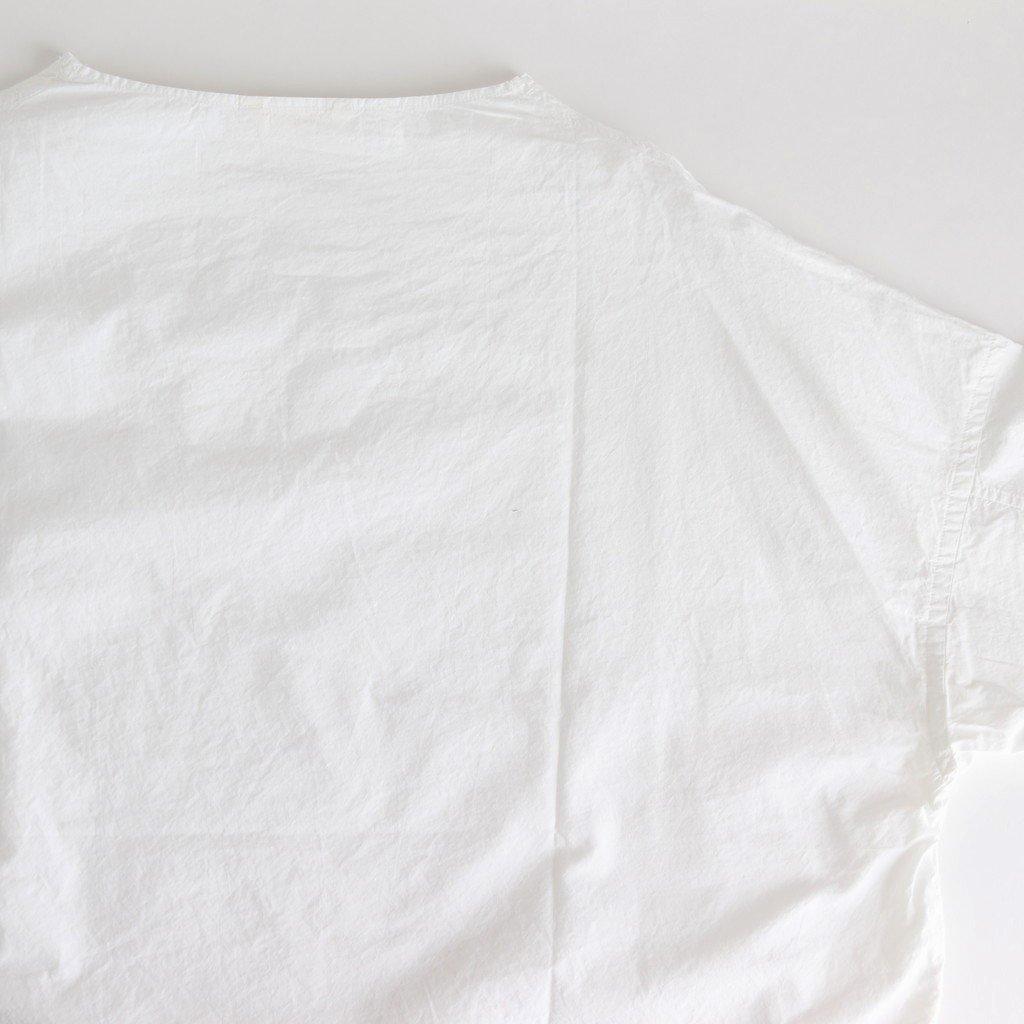 スビンオックス EASEシャツ #WHITE [201-602]