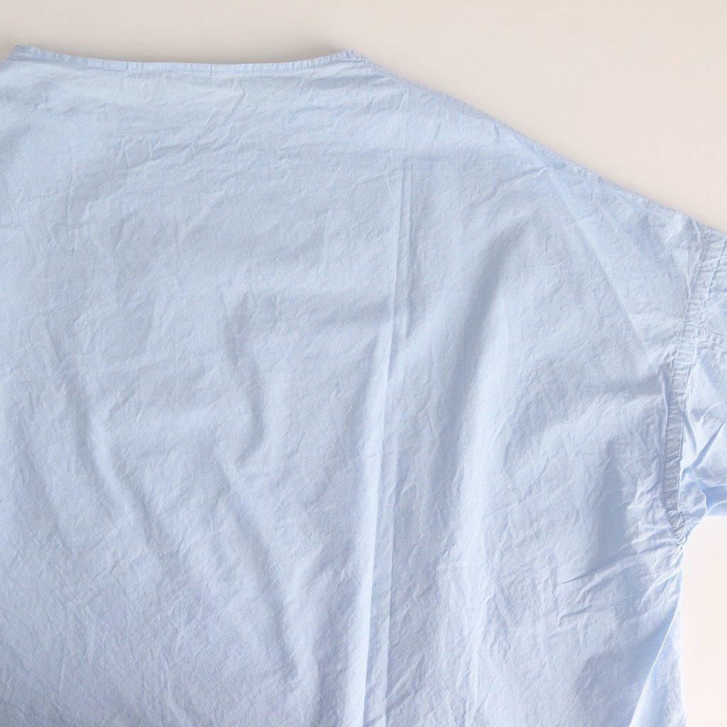 スビンオックス EASEシャツ #SAX [201-602]