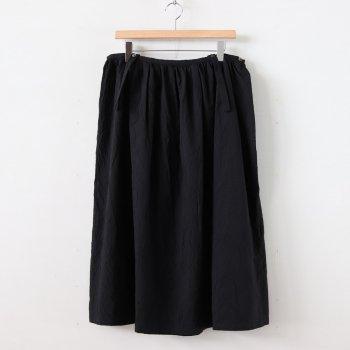 マイヤーコットンサスペンダースカート #BLACK [SK20207] _ pub | ピューブ